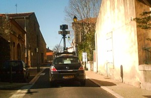 Google street view in Cessenon sur Orb