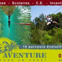 Het avonturenpark in Béziers