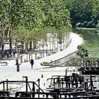 «Le Canal du Midi » en de 9 sluizen van Fonséranne in Béziers.