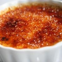 Heerlijk toetje: Crème Brûlée