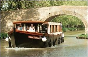 Boottocht op het Canal du Midi: Une balade en gabare