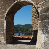 Roquebrun in de Hérault (Languedoc)