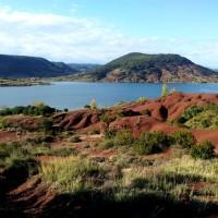 """Het meer van SALAGOU en het """"Cirque de Mourèze"""""""